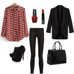 Outfit para San Valentín, encuentra más ideas en... http://www.1001consejos.com/outfits-san-valentin/