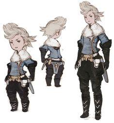Ringabel Concepts - Characters Art - Bravely Default
