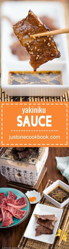 Yakiniku Sauce (焼き肉のタレ) | Easy Japanese Recipes at JustOneCookbook.com