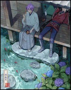 Kasen and Izuminokami Touken Ranbu, Manga Art, Manga Anime, Otaku, Boy Art, Kuroko, Japanese Art, Anime Guys, Character Design