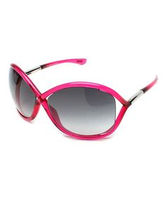 Love this Pink & Black Ombré Whitney Sunglasses on #zulily! #zulilyfinds