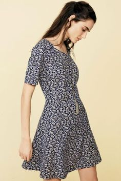 Ditsy florals are a must-have pattern for the summer months, add them into your dress for the ultimate wedding outfit.