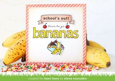 bananaparty8 by Lawn Fawn Design Team, via Flickr