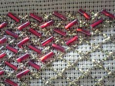 Beaded Embroidery, Cross Stitch Embroidery, Costa, Salons, Diy And Crafts, Fashion, Draping, Hardanger, Tutorials