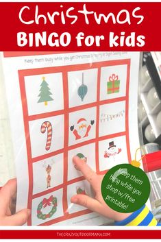 Fun Christmas Activity for Kids – Christmas Bingo! It's not even Thanksgiving yet, but I am already thinking about the crazy wonderfulness that is Christmas! And with Christmas, there is […] Christmas Scavenger Hunt, Winter Activities For Kids, Christmas Activities For Kids, Preschool Christmas, Christmas Games, Christmas Ideas, Christmas Decorations, Childrens Christmas, Family Christmas