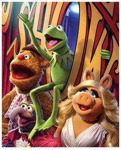Chris Trevas – The Big Show – The Muppets Kermit And Miss Piggy, Kermit The Frog, Jim Henson, Disney Love, Walt Disney, Elmo, Sesame Street Characters, Fraggle Rock, The Muppet Show
