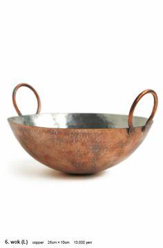 Stainless ladle and turner / Woks | [ JURGEN LEHL ] Online Shop