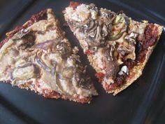 Raw Food Passion: Raw Pizza makes my mouth sooooooo happy!