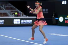 Petra Kvitova Photos Photos - Petra Kvitova of Czech Republic returns a shot against Wang Yafan of China during the Women's singles second round match on day four of the 2016 China Open at the China National Tennis Centre on October 4, 2016 in Beijing, China. - 2016 China Open - Day Four