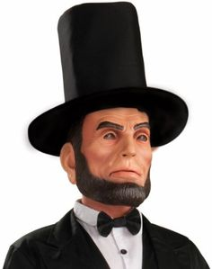 Abraham Lincoln Latex Adult Mask One Size Fits Most Adults. From #Forum Novelties Inc.. List Price: $36.93. Price: $18.97