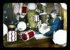 THE LANTERN BOYS OF OLD JAPAN, via Flickr.