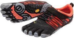 Vibram Women's FiveFingers V-Train Shoes Black/Coral 42