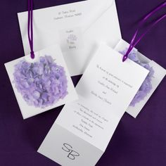 Vibrant Hydrangea - Invitation | Quaint Wedding Stationery & Accessories
