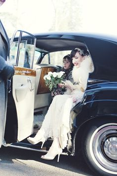 1930s inspired bride
