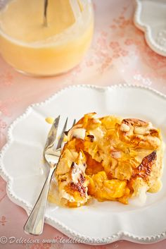 Mini Bourbon Peach Pies with Vanilla Bourbon Custard