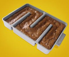 All-edges brownie pan    (http://gizmodo.com/5345513/all+edges-brownie-pan-makes-my-inner-child-want-to-die)