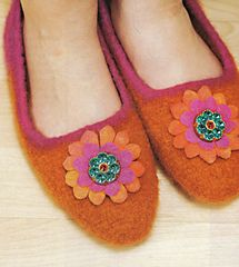 Crochet Pattern Name: Felted Slippers Pattern by: Susie Johns