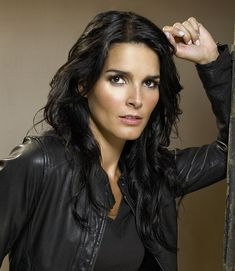 Angie Harmon is of Cherokee Native American descent on her father's side. Description from pinterest.com. I searched for this on bing.com/images