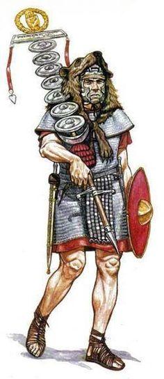 Orden de Batalla. Historia Militar: Las Legiones Romanas. Organización y Rangos. Signifer.