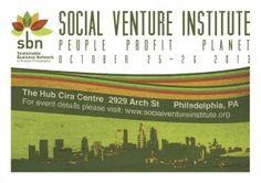 Register for Social Venture Institute for Triple Bottom Line Entrepreneurs