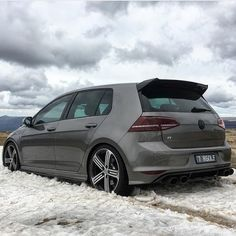 Love this Golf R!  Owner: @mk7.golf.r  #kwvwclub