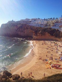 Praia do Carvoeiro   Portugal (by Nacho Coca)