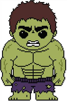 Avengers: Hulk PDF Pattern by Shylah Addante