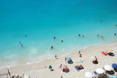 A beach in Greece by linda[baart]kunst