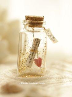 Glass Bottle Crafts, Mini Glass Bottles, Bottle Charms, Bottle Art, Valentine Gifts For Girlfriend, Boyfriend Gifts, Girlfriend Gift, Love Gifts For Her, Handmade Gifts For Her