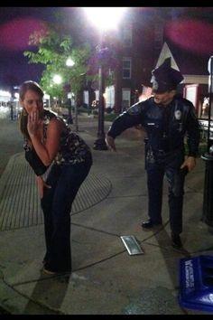 Police Man Statue - Carmel, IN