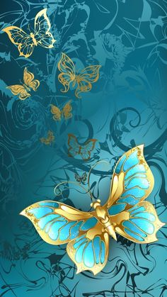 Flower Phone Wallpaper, Butterfly Wallpaper, Butterfly Art, Cellphone Wallpaper, Wallpaper Backgrounds, Iphone Wallpaper, Butterfly Pictures, Pretty Wallpapers, Beautiful Butterflies