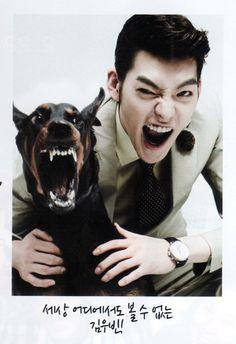 Le' Binnie with le' doggie <3 <3