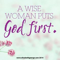 Keep God first through singleness, dating, relationships and marriage and you can face anything that comes your way!