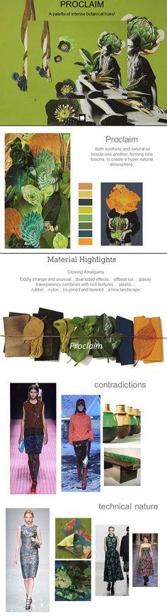Pantone Color Trends A/W2016/17-Eclectic Trends
