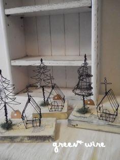 Image de Noël: fil vert +