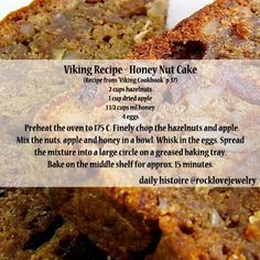 recipes dessert What Did Vikings Eat Recipes What Did Vikings Eat Recipes Medieval Recipes, Ancient Recipes, What Did Vikings Eat, Cake Recipes, Dessert Recipes, Desserts, Viking Food, Nordic Recipe, Norwegian Food