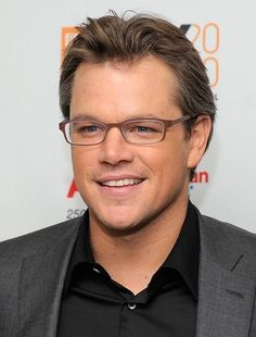 Matt Damon wears Bevel 6510 Mensch in EEEL