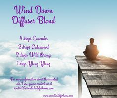 Wind Down Diffuser Blend