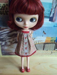 Blythe Dress Hearts Joni par moshimoshistudio sur Etsy