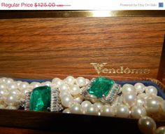 Holiday Sale Now Rare Vintage Art Deco Vendome by SoSwankVintage, $106.25 #TeamLove #vintage #jewelry #Fashion #etsyretwt