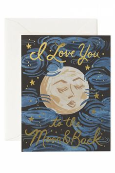 We literally love you... the the moon and back!