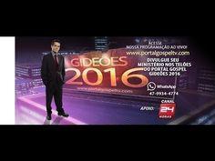 ao vivo -Testemunho Pr.Cesino Bernarido - Portal Gideões 2016 oficial - Variedades Gospel
