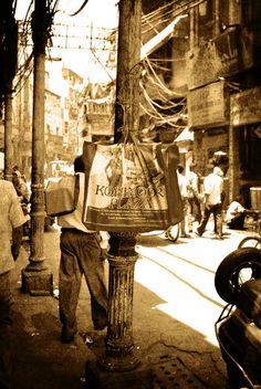 Nai Sadak, Old Delhi. Amidst the whole jing-jang of urbanisation, this part of Delhi still tells a different story. A sepia tale