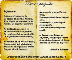 Lumea poeziilor: Romulus Vulpescu - În fiecare zi