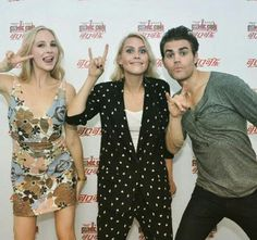 Candice, Claire and Paul in China
