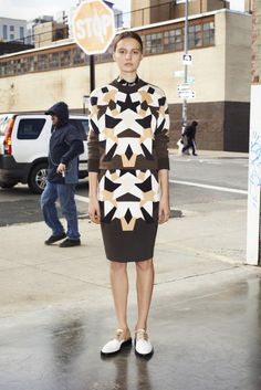 Estampados geométricos - Givenchy - Pasarela