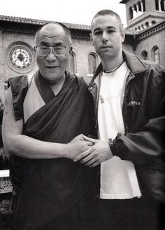 Dalai Lama and his holiness MCA (Beastie Boys) r.i.p dude.