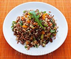 Sałatka z quinoa i czerwonego ryżu