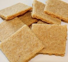 Paleo Cheez-Its...it took me FOREVER to find this recipe again after making it the first time! FOUR ingredients, I use Grassfed Aged White Cheddar. GO!