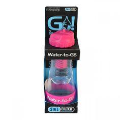 filtre eau watertogo rose